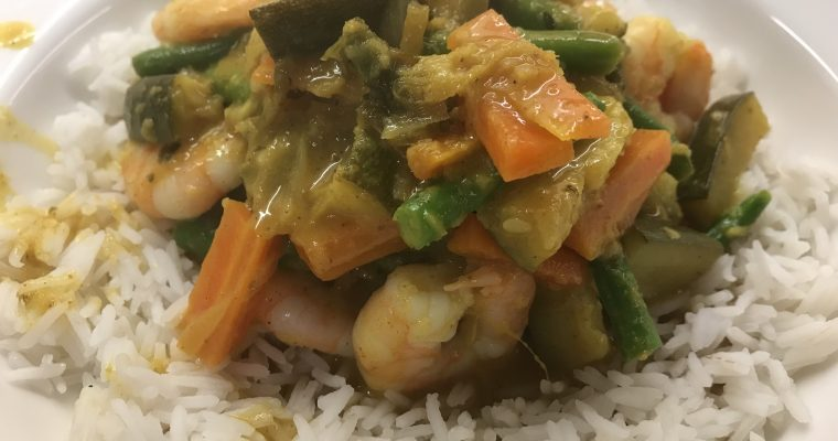 Prawn & Vegetable Korma