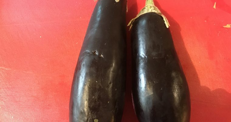 Ingredient of the Week: Aubergine
