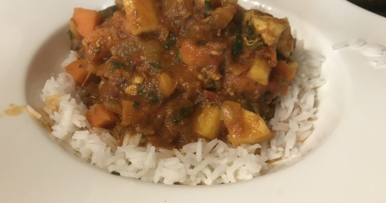 Chicken, Parsnip & Carrot Curry