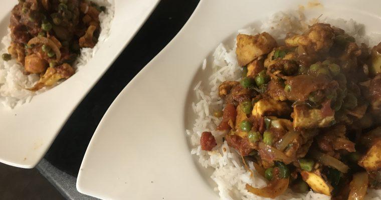 Paneer & Cauliflower Curry