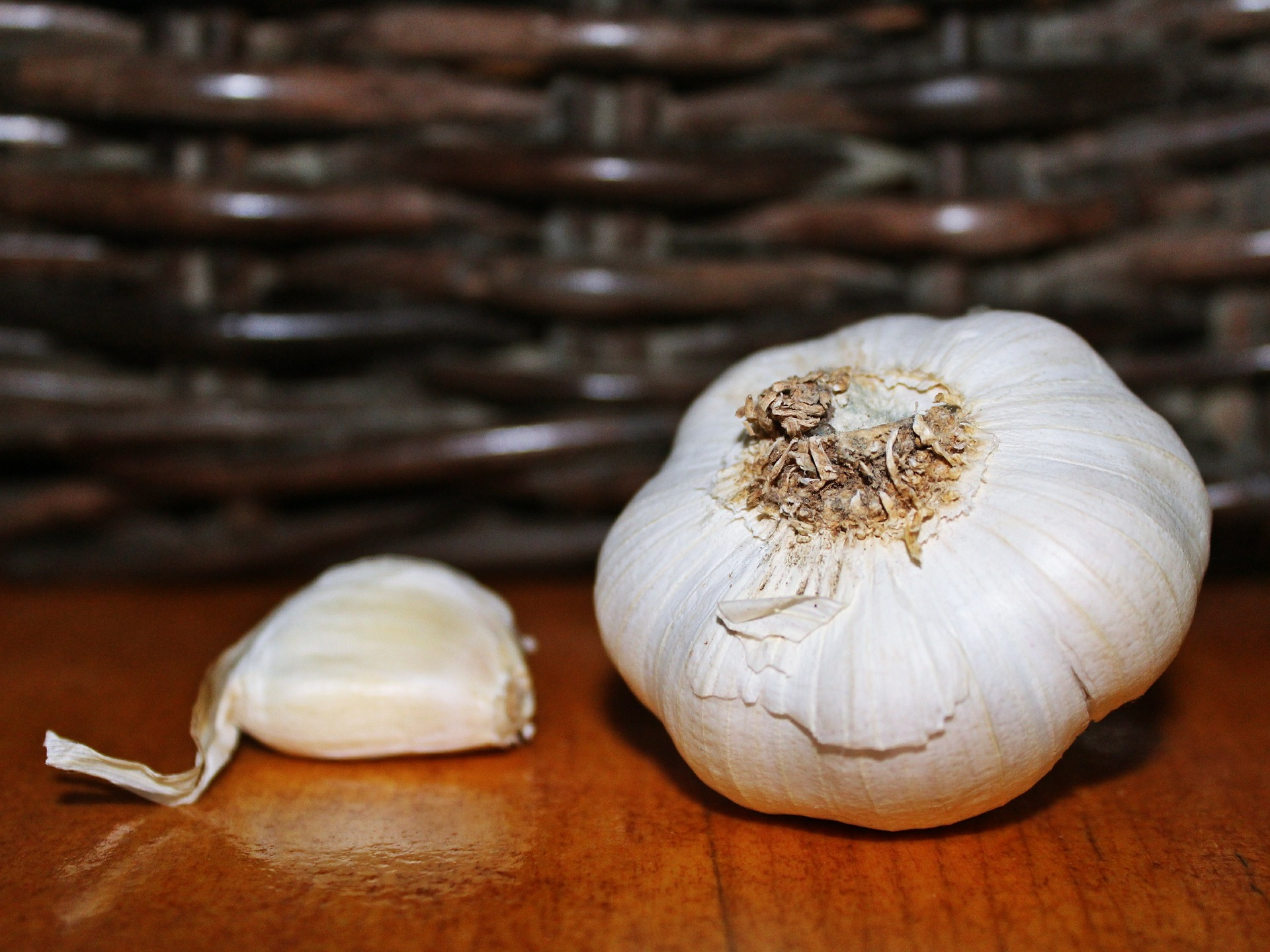 Preparing Garlic