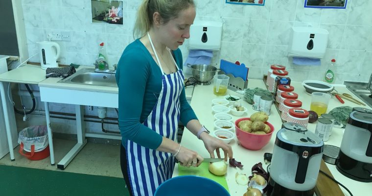 Indian Cookery Course with the RNIB