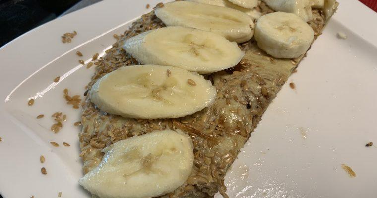 Baked Peanut Butter & Jam Pancake