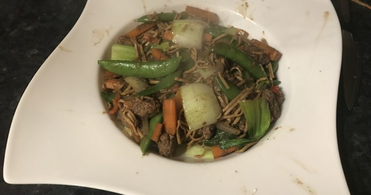 5-Spice Beef & Vegetable Stir-Fry