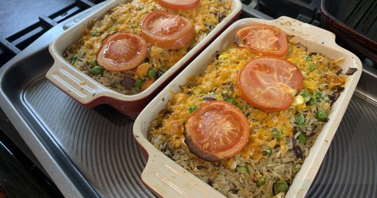 Fish & Rice Bake