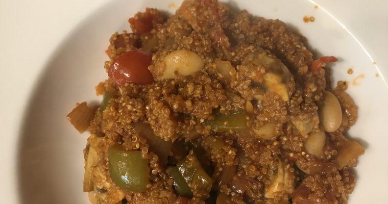 Smokey Chorizo & Bean Quinoa