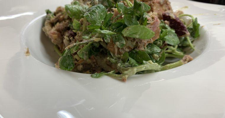 Creamy Smoked Mackerel & Potato Salad