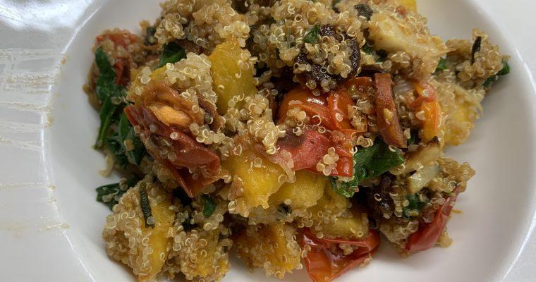 Pumpkin & Chorizo Quinoa